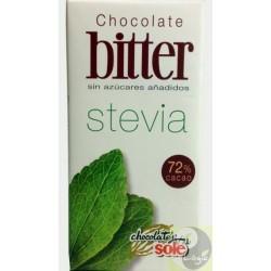 CHOCOLATINAS 72% CS/AZUCAR CON STEVIA SOLÉ