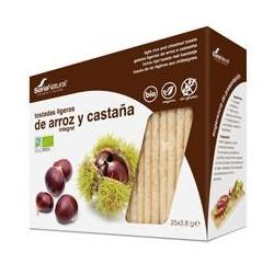 Tostadas Arroz Y Castaña Bio Sin Gluten Soria Natural