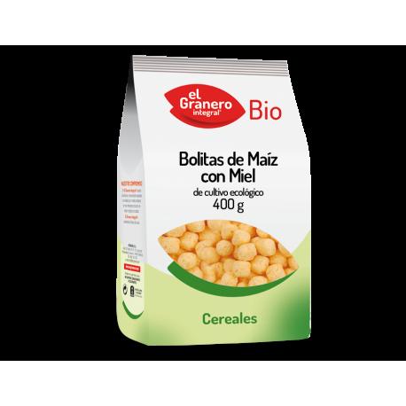 BOLITAS DE MAIZ CON MIEL BIO 400g EL GRANERO