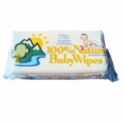 TOALLITAS BEBÉ NATURAL BABYWIPES