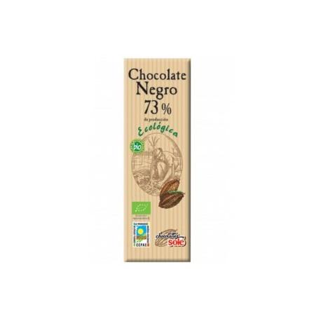 CHOCOLATINA NEGRO ECO 73% 25 GR SOLÉ