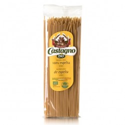Espaguetis Espelta Integral Ecológicos 500 Gr Castagno Bio