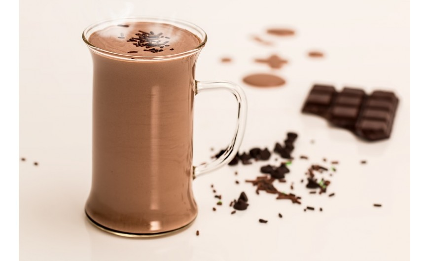Chocolate a la taza saludable